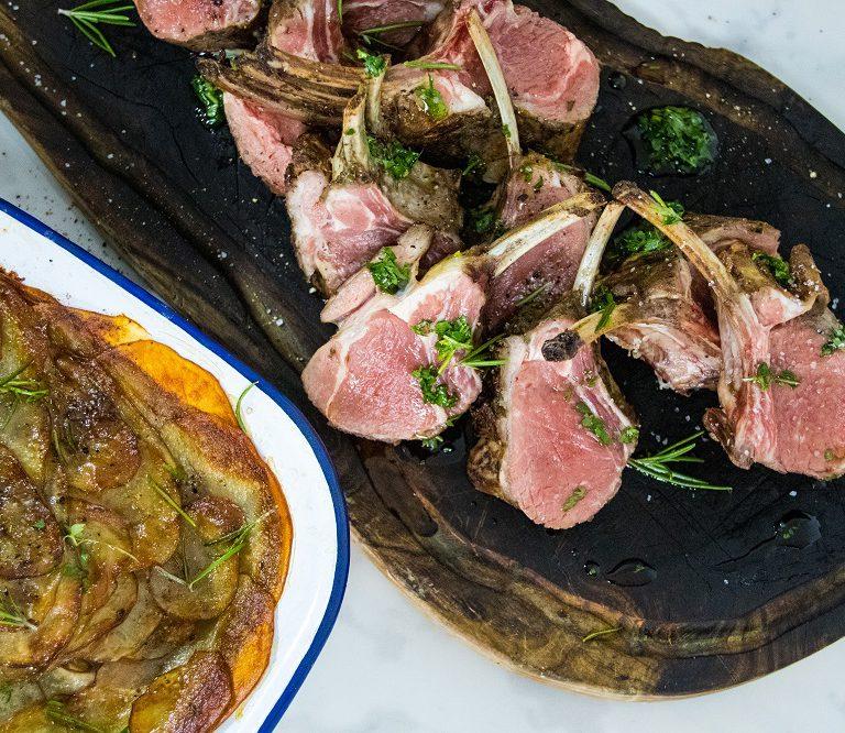 lamb rack recipe