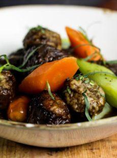 Beef Stew and Dumplings Recipe