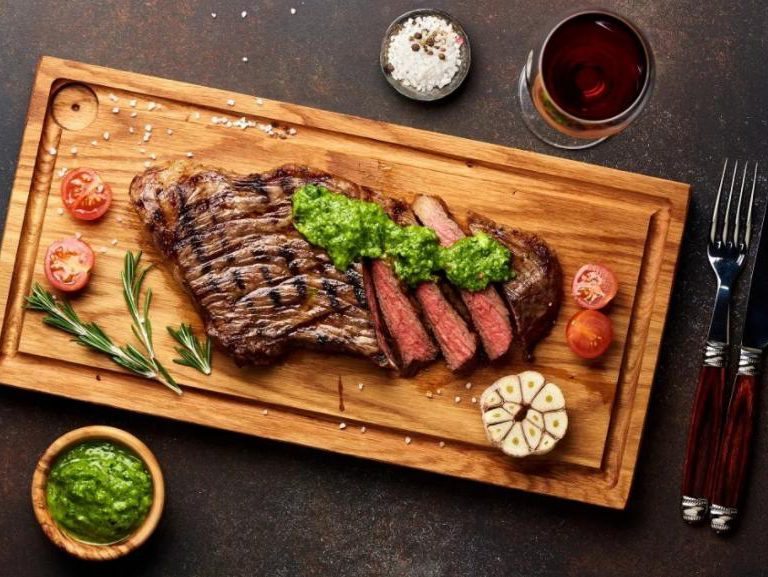 sirloin steak salad recipe